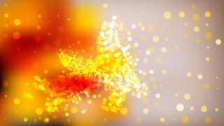 Abstract Orange Defocused Background Vector Image