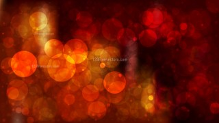 Orange and Black Blurred Bokeh Background
