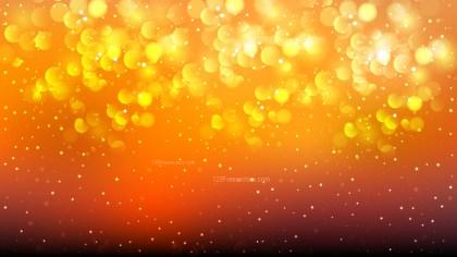 Orange and Black Blurred Bokeh Background