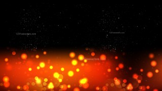 Abstract Orange and Black Defocused Background