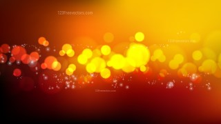 Abstract Orange and Black Blur Lights Background Design