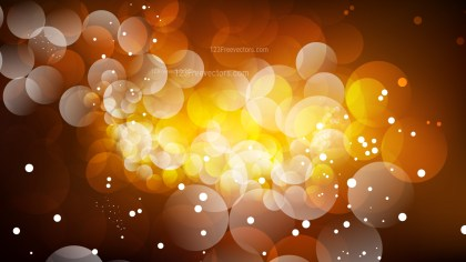 Abstract Orange and Black Blurry Lights Background Vector Image
