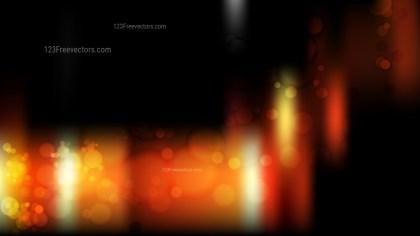Orange and Black Blur Lights Background
