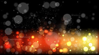 Orange and Black Defocused Background Vector Art