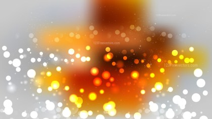 Orange and Grey Blurred Bokeh Background