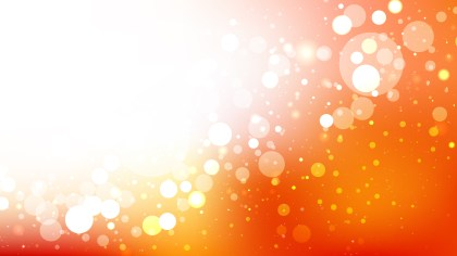 Orange and White Defocused Background Vector Art
