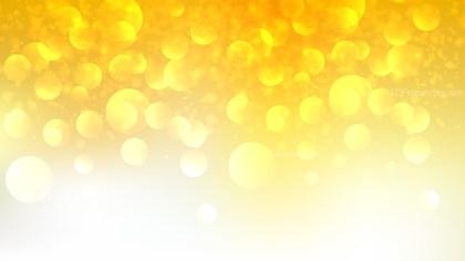 Orange and White Defocused Background Illustration