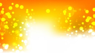 Abstract Orange and White Defocused Background
