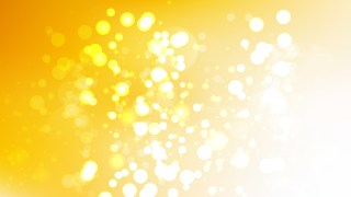 Abstract Orange and White Blurred Bokeh Background Vector Image