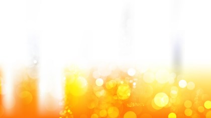 Abstract Orange and White Defocused Background Vector Image