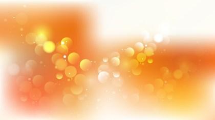 Orange and White Illuminated Background