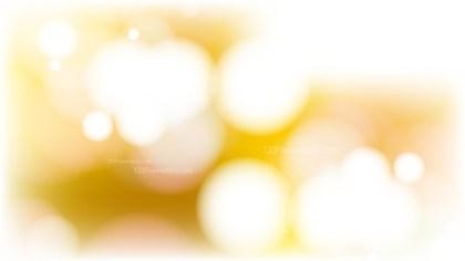 Orange and White Defocused Lights Background