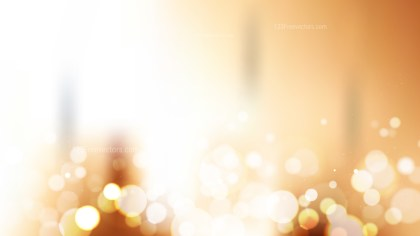 Abstract Orange and White Lights Background Illustration