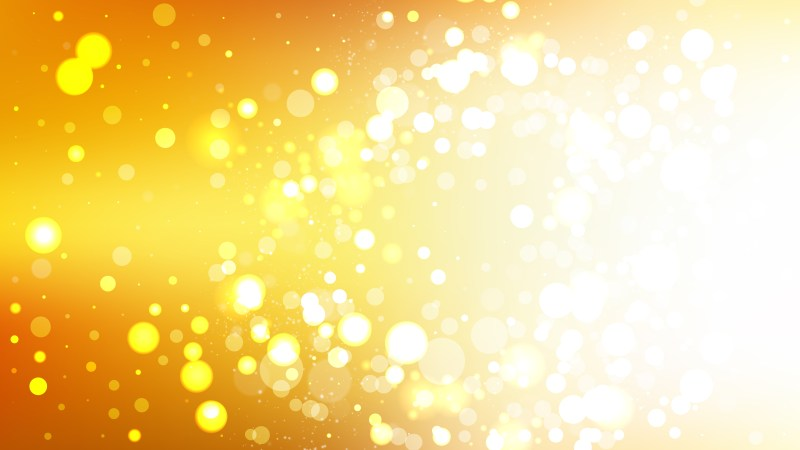 Abstract Orange and White Blurry Lights Background Vector Image