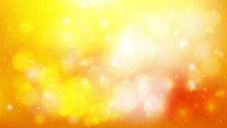 Orange and White Blurry Lights Background Vector Art