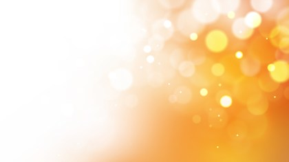 Orange and White Blur Lights Background