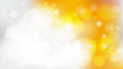 Abstract Orange and White Blurred Lights Background Illustrator