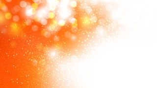 Abstract Orange and White Bokeh Defocused Lights Background Vector Art