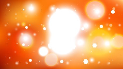 Abstract Orange and White Illuminated Background