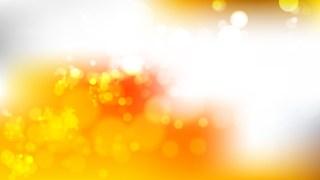 Abstract Orange and White Illuminated Background Vector Illustration