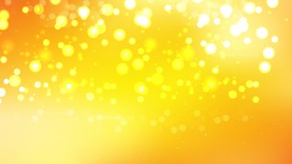 Orange and Yellow Bokeh Background