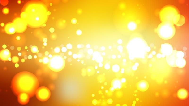 Orange and Yellow Lights Background