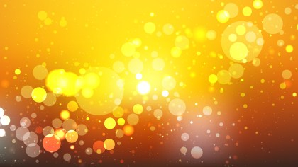 Orange and Yellow Blurry Lights Background Illustration
