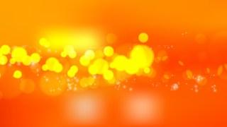 Orange and Yellow Blurry Lights Background