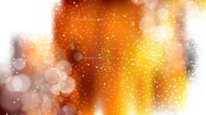 Abstract Orange Black and White Lights Background Vector Illustration