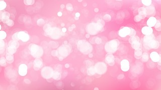Abstract Pastel Pink Defocused Lights Background Graphic