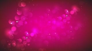 Pink Bokeh Lights Background