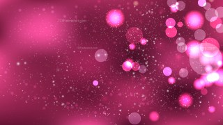 Abstract Pink Blur Lights Background