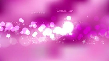 Pink Bokeh Background Vector Graphic