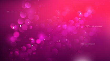 Pink and Black Defocused Lights Background Vector Graphic