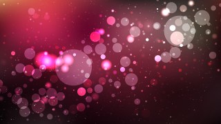 Abstract Pink and Black Bokeh Lights Background