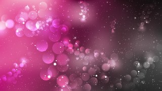 Abstract Pink and Black Bokeh Background Graphic