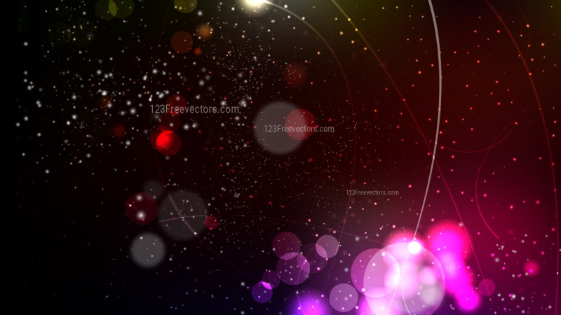 Pink and Black Bokeh Background Graphic