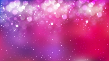 Pink and Purple Bokeh Background Vector Graphic