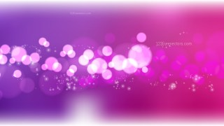 Abstract Pink and Purple Blur Lights Background