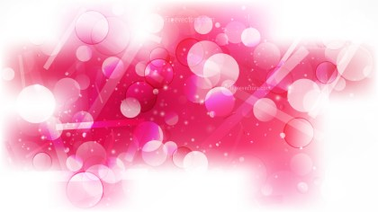 Abstract Pink and White Defocused Background Illustration