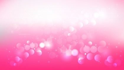 Abstract Pink and White Defocused Lights Background Design
