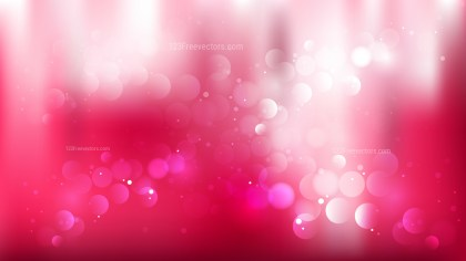 Pink and White Defocused Background