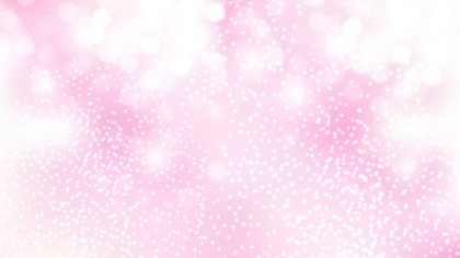 Pink and White Bokeh Background Illustrator