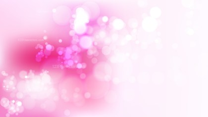 Pink and White Lights Background Illustration