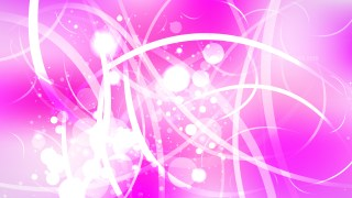Abstract Pink and White Bokeh Background Illustrator