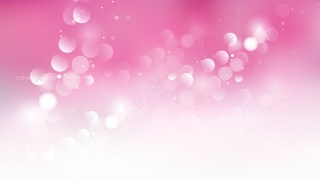 Pink and White Defocused Background Vector Art