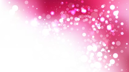 Abstract Pink and White Bokeh Defocused Lights Background