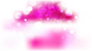 Abstract Pink and White Defocused Lights Background