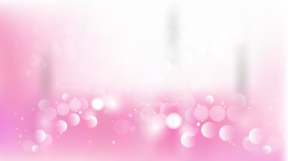 Abstract Pink and White Lights Background