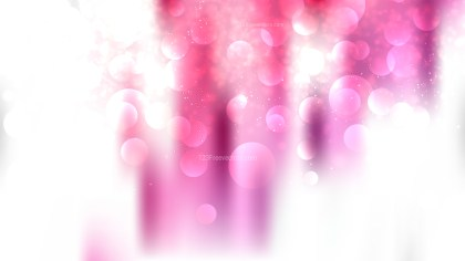 Abstract Pink and White Blur Lights Background Design